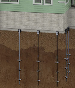 Foundation Helical Piers in Montreal