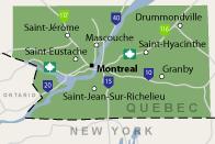 Our Québec Service Area