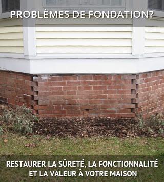 Systèmes Sous-sols Québec répare les fissures de fondation au Québec