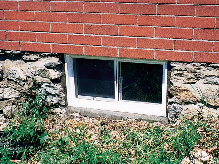 vinyl basement windows